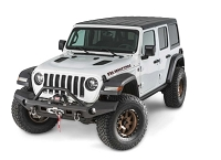 WARN ELITE SERIES FULL WIDTH JEEP JL BUMPER WITH BULLBAR